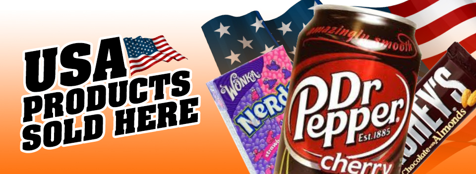 Grocery shopping delivery with USA products sold here in our online food store