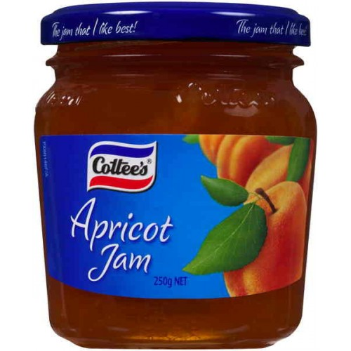 Cottees Apricot Jam 250g