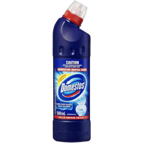 Domestos Bleach Toilet Cleaner Original 500ml Order Online