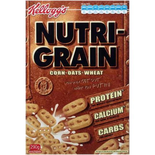 Kellogg S Nutri Grain 290g Order Online