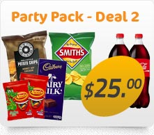 Party Packs available for every occasion